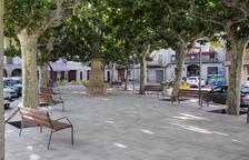 Verdú finaliza la reforma de su plaza Major tras 3 meses de obras