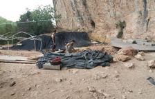 Promoción del yacimiento de la Cova Gran de Santa Linya