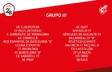 El Lleida es queda al grup 3 de Segona B
