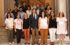 Miquel Sala inicia dos anys i mig com a president de l'Alt Urgell