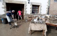 Un home mor al ser arrossegat per l'aigua a les riuades de Navarra