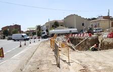 El acceso a la carretera de Vallmanya, cerrado 2 meses