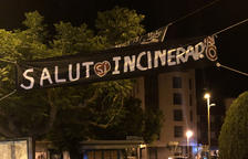 Pancartes i protestes contra la planta de Tracjusa a Juneda