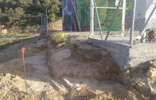 Tarrés inicia las obras para vallar el depósito municipal de agua