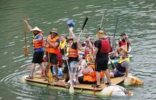 Dos mil persones i 247 barques en una Transsegre imaginativa