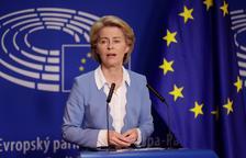 Von der Leyen es juga avui a l'Eurocambra la presidència de la Comissió