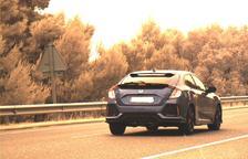 Pillan un conductor que iba a 184 kilómetros por hora por la C-14 al Urgell