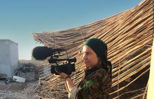 Alba Sotorra rodó en la guerra de Siria el film 'Comandante Arian', premio 'Lleida Visual Art' en 2016.