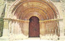 Finalitza la restauració de la porta de Santa Maria de Cubells