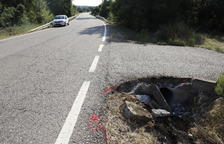 Muere un vecino de Isona en una salida de vía en Artesa de Segre