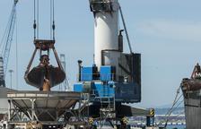 El Port de Tarragona registra el tercer mes consecutiu d'increment de tràfic de mercaderies