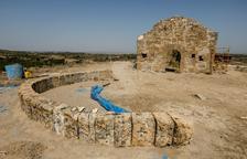 Las obras de restitución del Arc d'Adar destapan el antiguo edificio