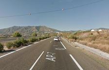 Muere un vecino de L'Albi en una salida de vía en la AP-7 en el Vallès
