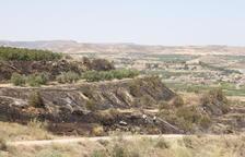Sufoquen incendis a Castelló de Farfanya i Seròs