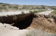 Restablecen el riego en 2.000 hectáreas del aragón y catalunya tras su rotura