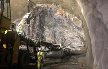 Reciclan más de 170.000 metros cúbicos de roca de Tres Ponts