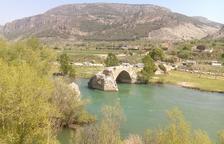 Camarasa protege el Pont Trencat sobre el río