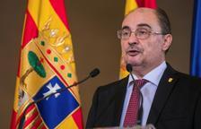 """Lambán sostiene que Aragón es el """"proyecto común"""" del cuatripartito"""