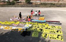 VIDEO. Las brigadas españolistas retiran símbolos en el Pirineo