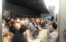 Unas 150 personas inauguran la nueva sala de Mas Blanch i Jové