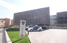 Vistes de la comissaria de la Guàrdia Urbana de Lleida.