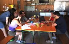 Algunos de los participantes, durante la fase de preproducción.