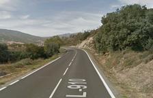 Mor un ciclista al xocar amb un vehicle en una pista de les Avellanes