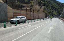 Andorra reabre antes de lo previsto la vía afectada por el desprendimiento