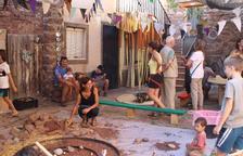 El públic familiar va ser el més present el primer dia de festival i els més petits s'ho van passar pipa amb els tallers.
