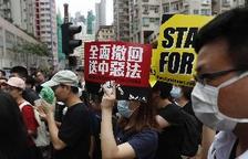 El moviment pro-democràcia de Hong Kong convoca una manifestació dijous en suport a les protestes a Catalunya