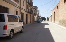 Nuevas tuberías para la calle Urgell de Castellserà