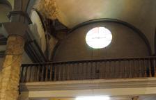 Cierre temporal de la iglesia de El Palau tras desprendimientos en su interior