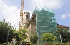 Obras en la iglesia de Alpicat para reabrirla este invierno