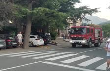 Evacuades 200 persones per un incendi en un hotel de Rialp