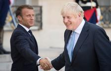 Macron advierte a Boris Johnson de que no habrá renegociación del Brexit