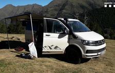 Multas por circular campo a través y acampar en espacios protegidos