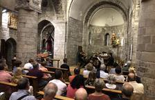 La iglesia románica de Bossòst acoge las Goldberg de Bach