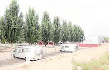 El parking de caravanas de Balaguer, cerrado 4 meses a la espera de la CHE