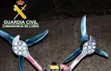 Denunciado por sobrevolar su dron cerca del aeropuerto de Alguaire