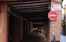 Nuevo alumbrado público con LED en la calle d'Avall de Balaguer