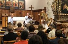 Ple a Sant Miquèu de Vielha en la clausura del 'Romanic Musicau'
