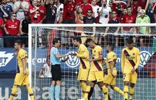 El Barça s'encalla