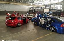Unos 300 coches 'tuning' se exhiben en Balaguer