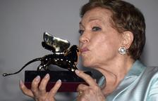 Julie Andrews brilla en la Mostra con el León de Oro honorífico