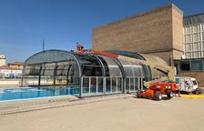 Balaguer inicia la reforma de la piscina cubierta