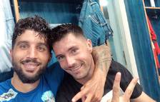 Marc Trilles y Álex Felip parodian Piqué y Neymar