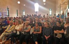 El sentido homenaje de La Pobla se tradujo en una sala repleta de público.