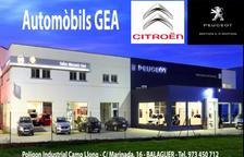 Citroën fitxa per Automòbils Gea de Balaguer