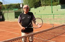 Un leridano lidera el ranking estatal de tenis de mayores de 80 años