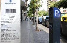 La Paeria valora anul·lar la polèmica multa de zona blava